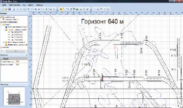 The mine design of new technical level with the use of geoinformation technologies